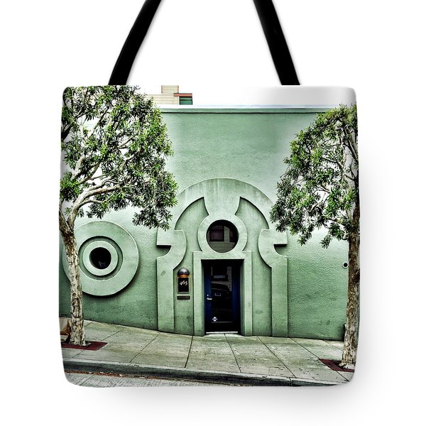 Green Wall Tote Bag by Julie Gebhardt