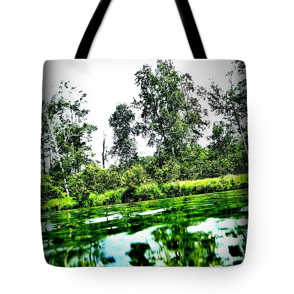Green Waters Tote Bag