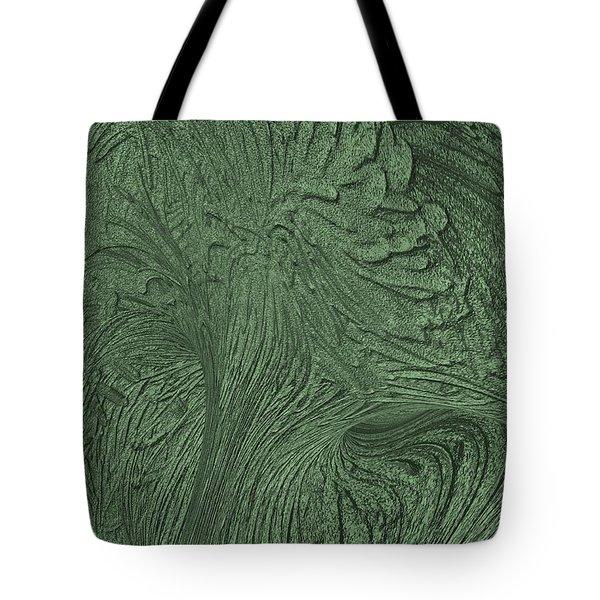 Green Wind Tote Bag