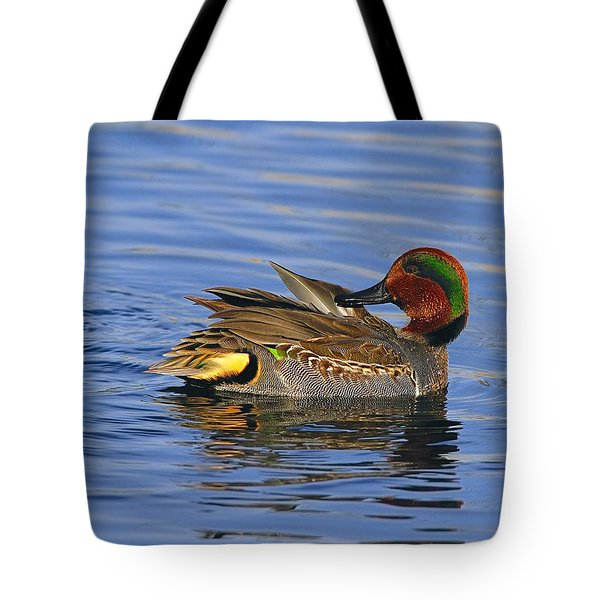 Green-winged Teal Tote Bag