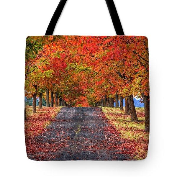 Greenbluff Autumn Tote Bag