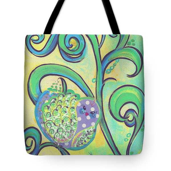 Greenbriar Birdy Tote Bag