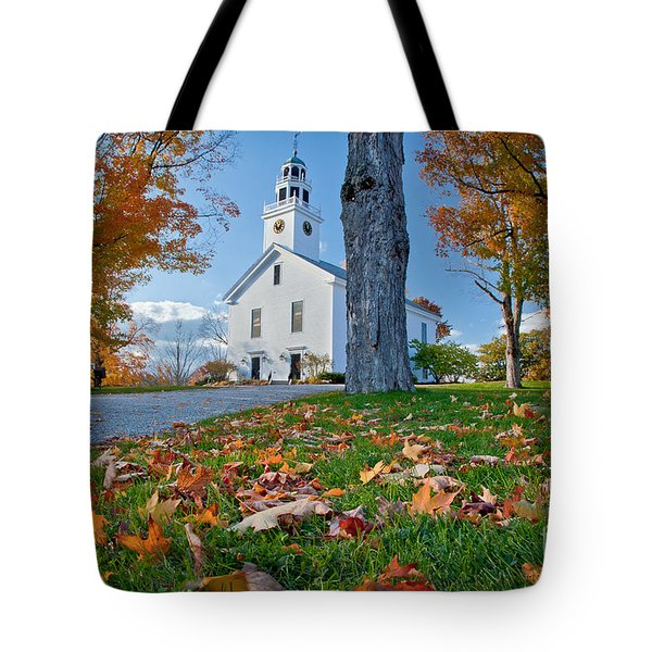Greenfield Church Tote Bag