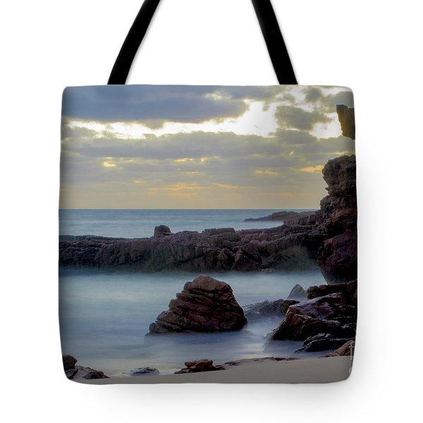 Tote Bag featuring the photograph Greenglades Beach Morning by Angela DeFrias