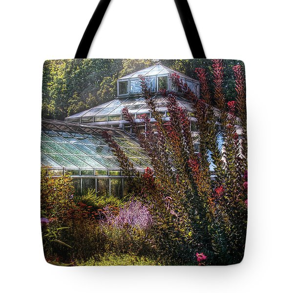 Greenhouse - The Greenhouse Tote Bag by Mike Savad
