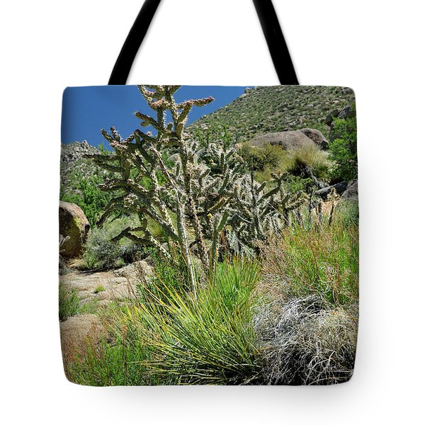 Greening Of The High Desert Tote Bag