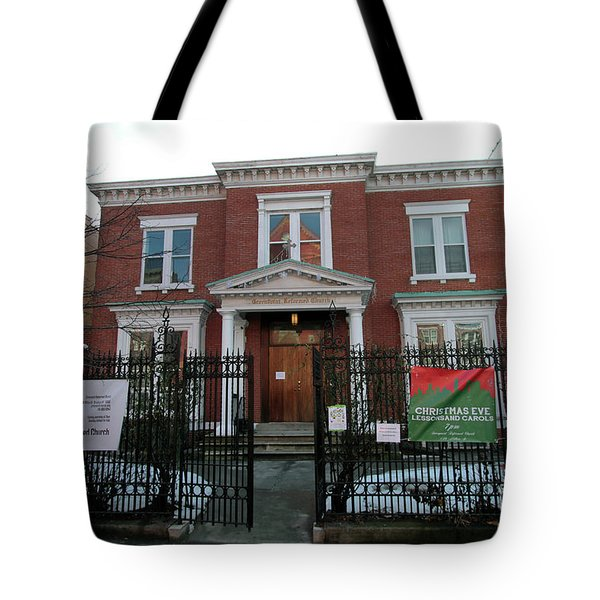 Greenpoint Reformed Church Tote Bag