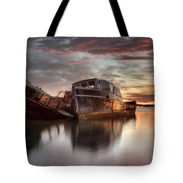Greenpoint Sunrise Tote Bag