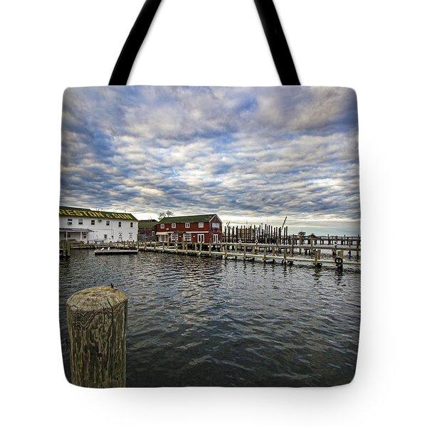 Greenport Dock Tote Bag