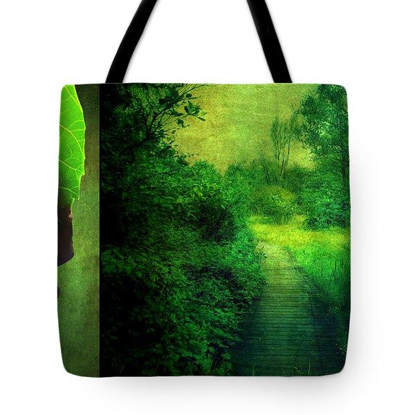 Greens Tote Bag