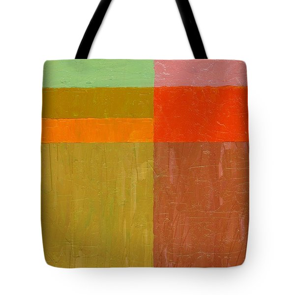 Greens And Reds Tote Bag
