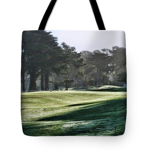 Greens Golf Harding Park San Francisco  Tote Bag