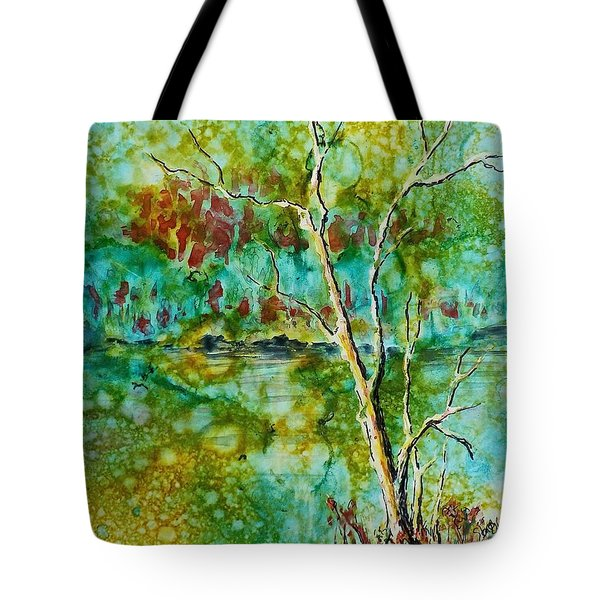 Greens Of Late Summer Tote Bag