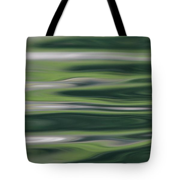 Greens Of Spring Tote Bag by Cathie Douglas
