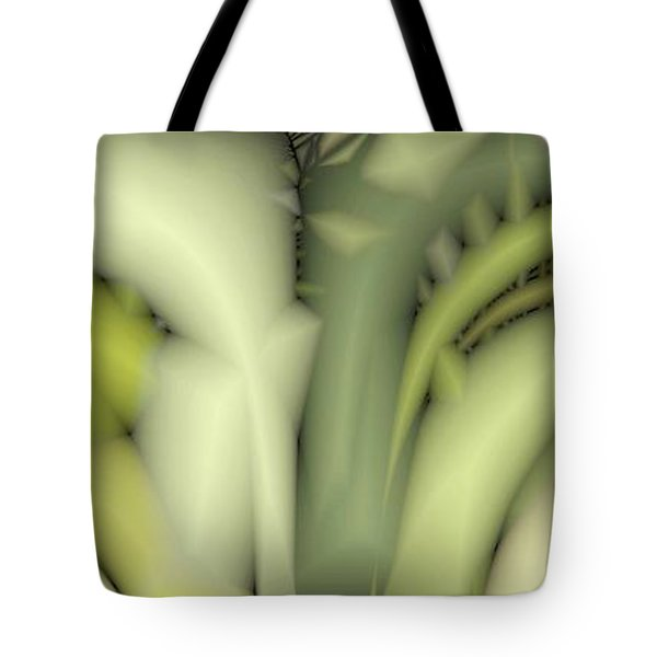 Greens Tote Bag by Ron Bissett