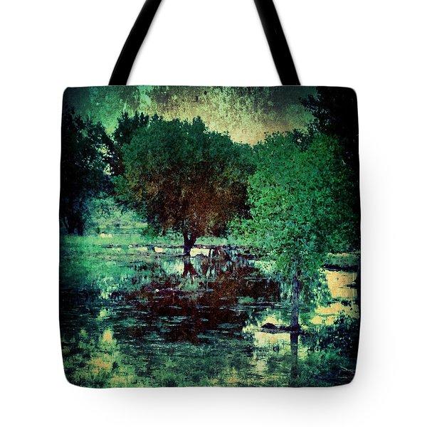 Greenscape Tote Bag