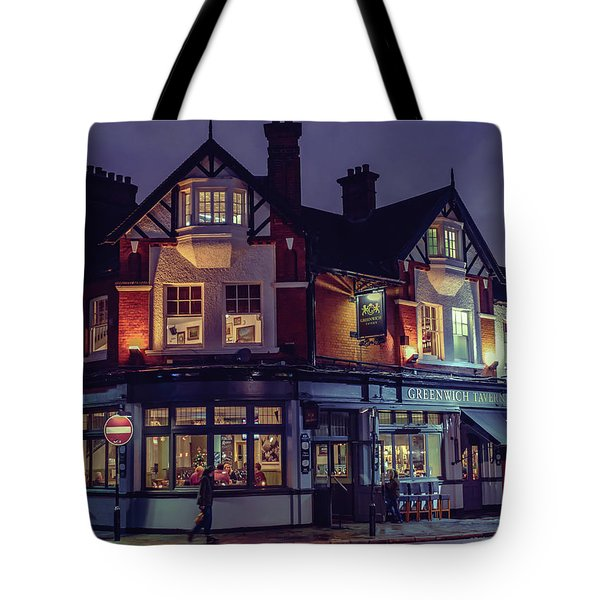 Greenwich Pub Tote Bag