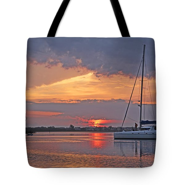 Greet The Day Tote Bag by HH Photography of Florida