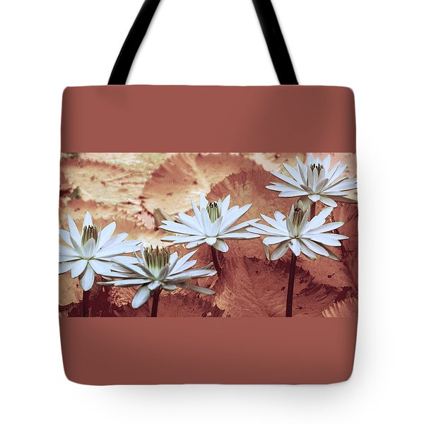 Greeting The Day Tote Bag by Holly Kempe