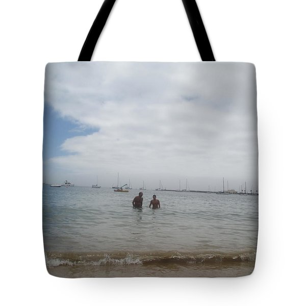 Greetings From The Beach Tote Bag