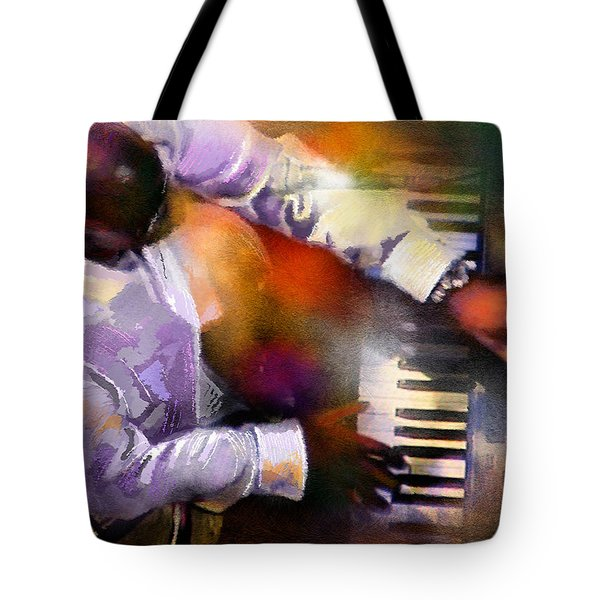 Greg Phillinganes From Toto Tote Bag by Miki De Goodaboom