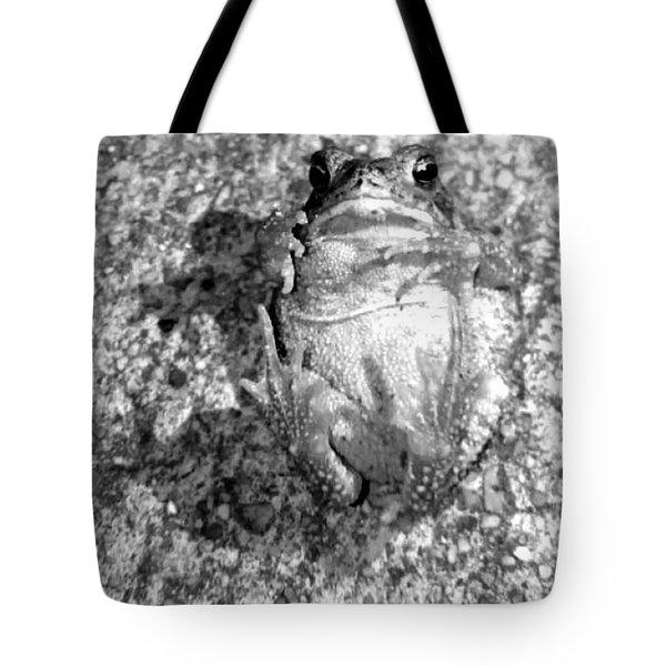 Gregoree The Stranded Frog Tote Bag