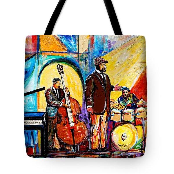 Gregory Porter And Band Tote Bag