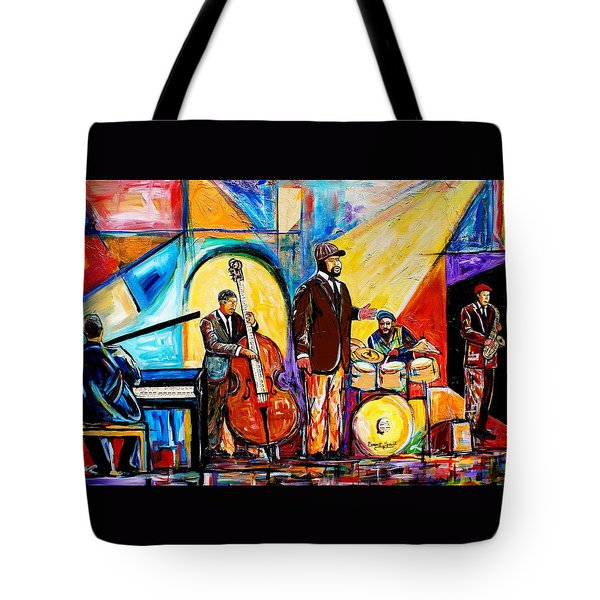 Gregory Porter And Band Tote Bag