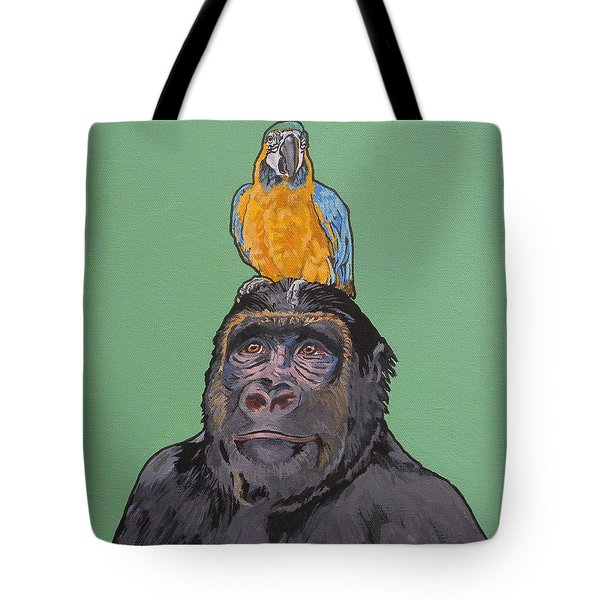 Gregory The Gorilla Tote Bag