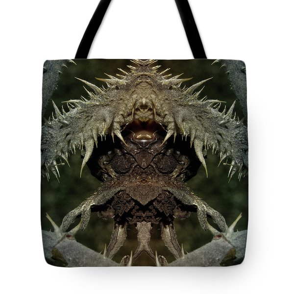 Tote Bag featuring the photograph Gremlin by WB Johnston