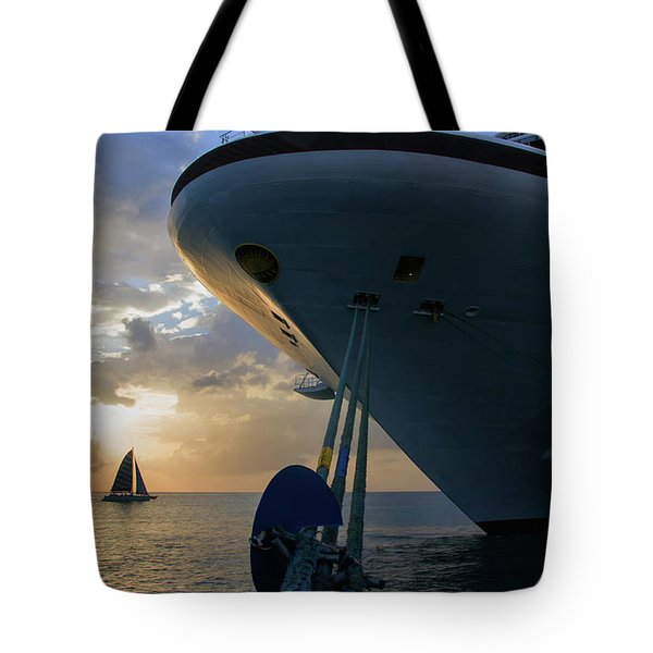 Grenada Sunset Tote Bag