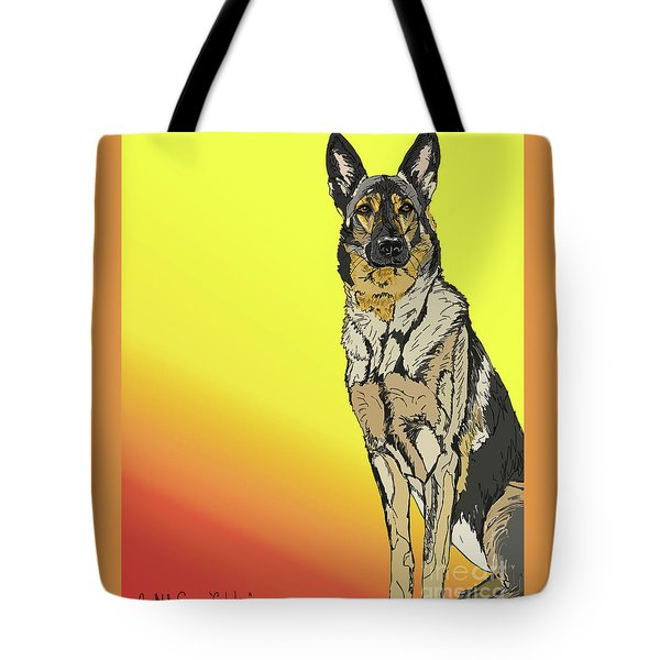 Gretchen In Digital Tote Bag