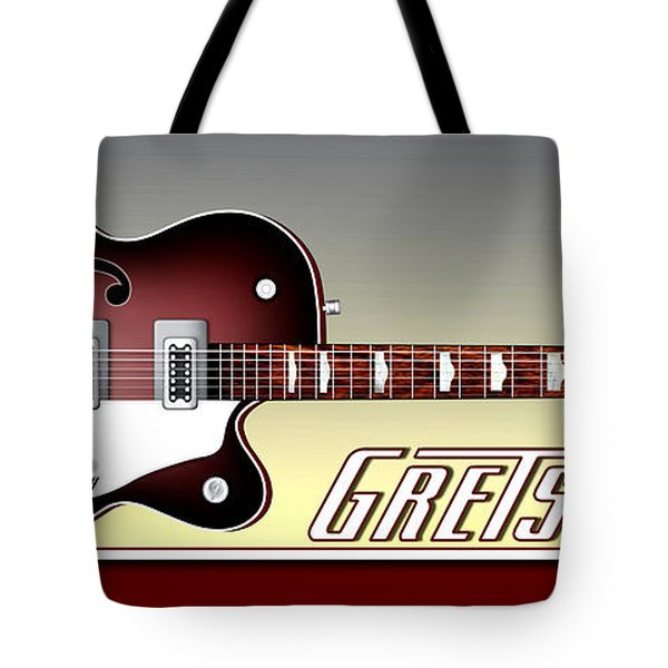 Tote Bag featuring the photograph Gretsch Guitar by Anthony Citro