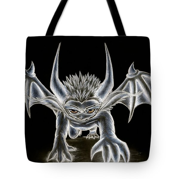 Tote Bag featuring the painting Grevil Pastel by Shawn Dall