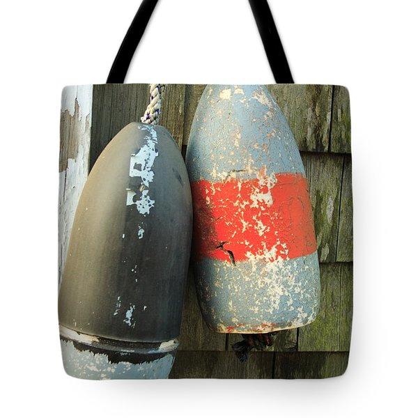 Grey Bouys Tote Bag