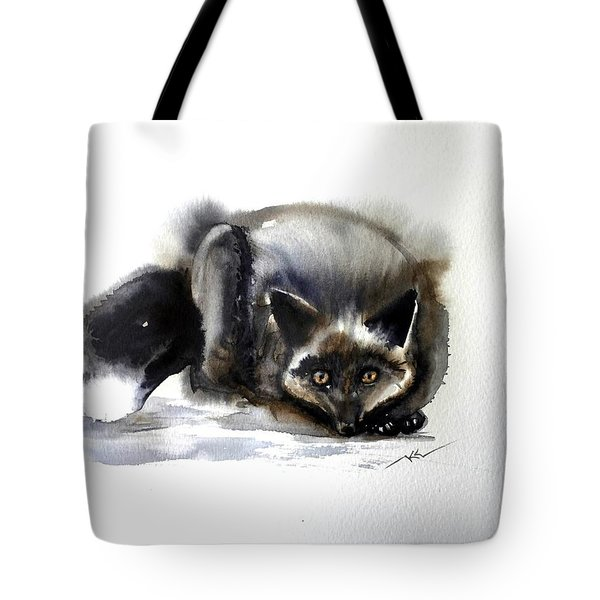 Grey Fox 1 Tote Bag