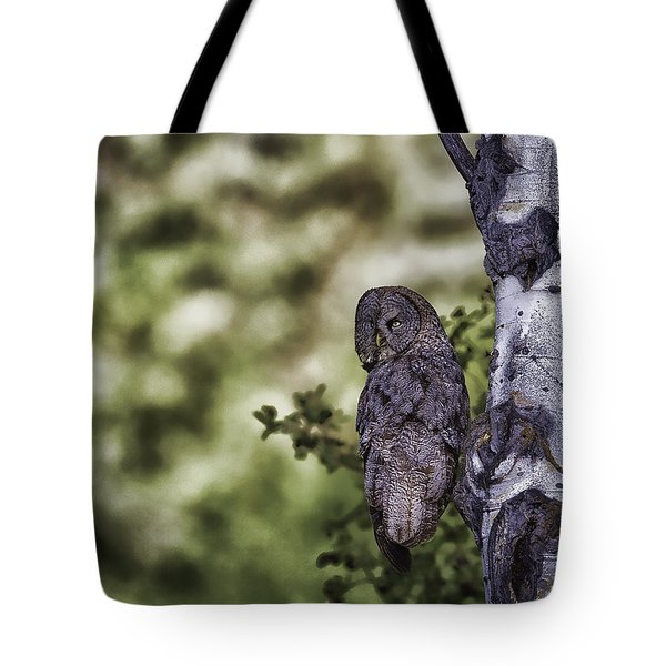 Grey Ghost Tote Bag