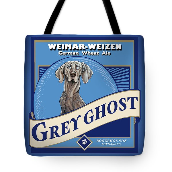 Grey Ghost Weimar-weizen Wheat Ale Tote Bag