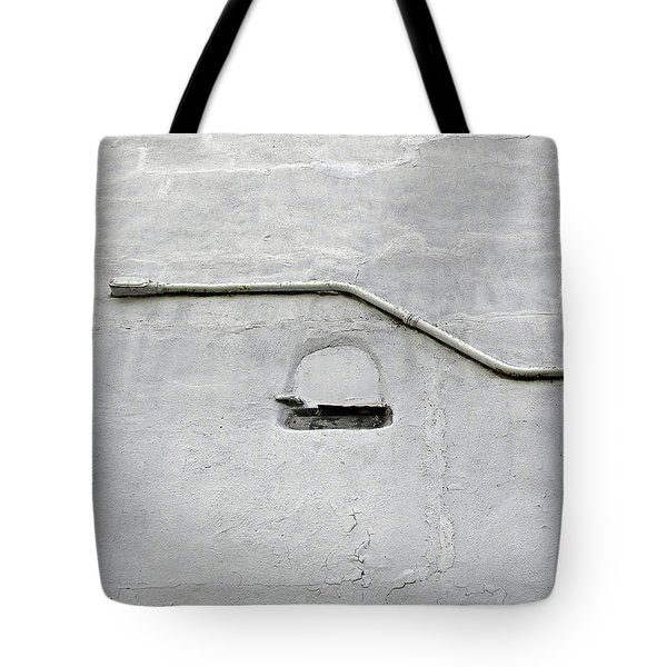 Grey Matter Tote Bag by Ethna Gillespie