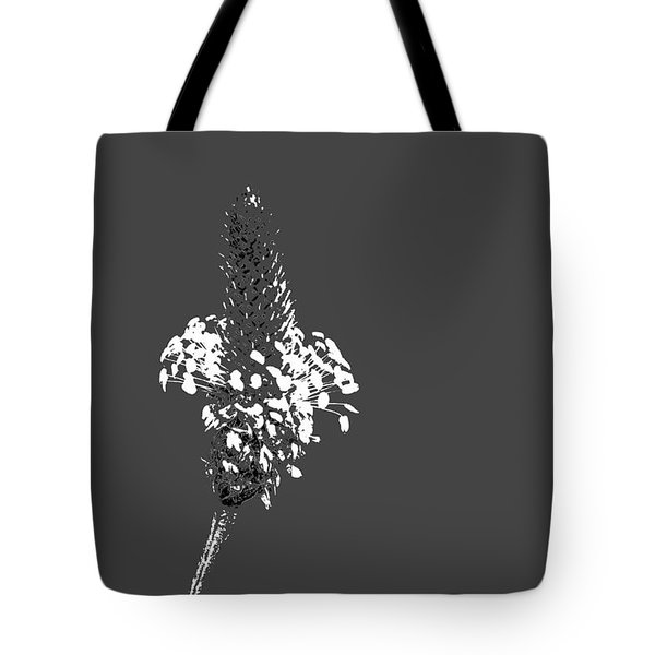 Grey Plaintain Tote Bag