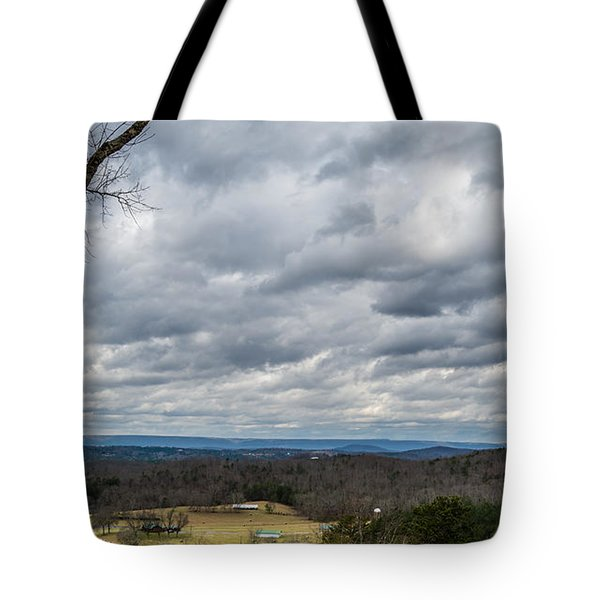 Grey Skies Tote Bag