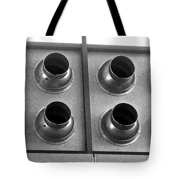 Grey Sound Tote Bag