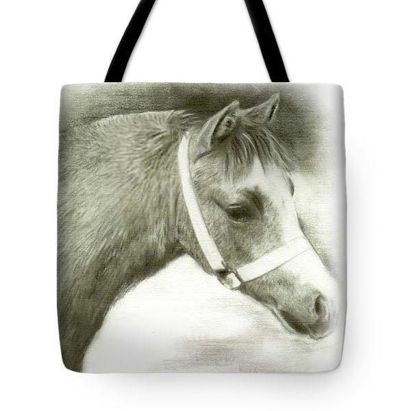 Grey Welsh Pony  Tote Bag