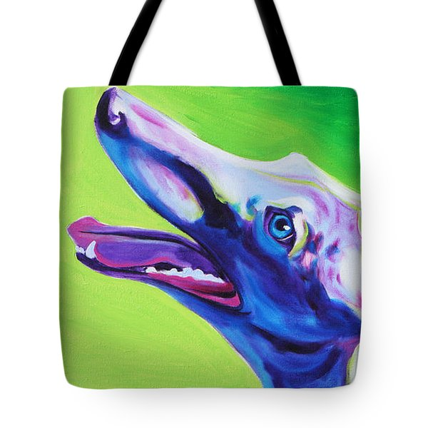Greyhound - Emerald Tote Bag