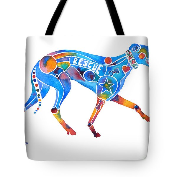 Greyhound Rescue Gffl Tote Bag