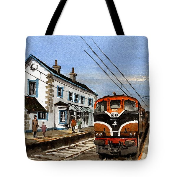Greystones Railway Station Wicklow Tote Bag