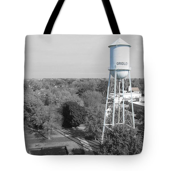Tote Bag featuring the photograph Gridley by Dylan Punke