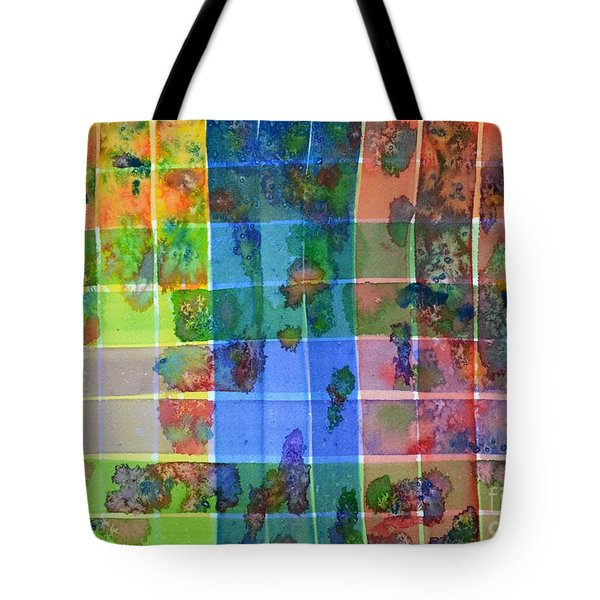 Gridlock Tote Bag by Holly York