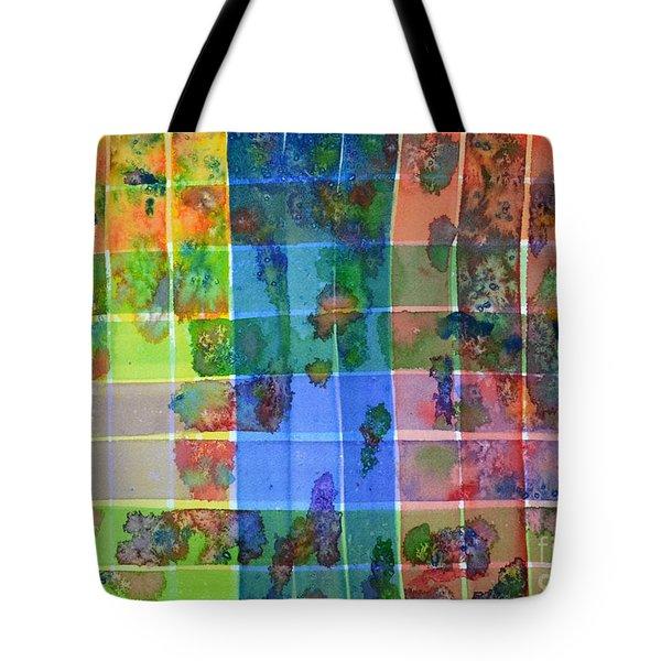 Gridlock Tote Bag