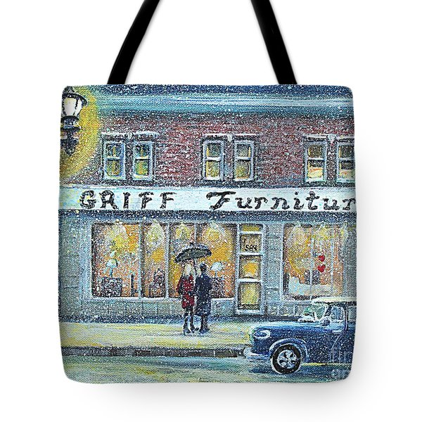 Griff Furniture Tote Bag by Rita Brown